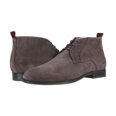 BOSS Hugo Boss ボス メンズ 男性用 シューズ 靴 ブーツ チャッカブーツ Boheme Desert Boot - Dark Grey