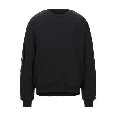 アールティーエー RTA スウェットシャツ ブラック M コットン 100% スウェットシャツ
