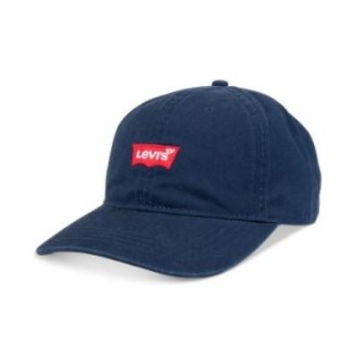リーバイス メンズ 帽子 アクセサリー Men's Batwing Logo Baseball Hat Navy