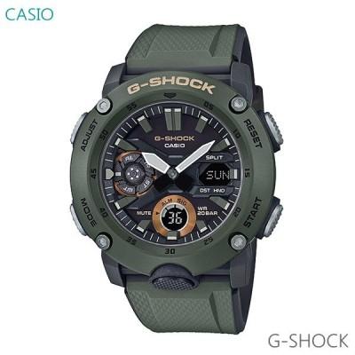 メンズ 腕時計 7年保証 カシオ G-SHOCK GA-2000-3AJF 正規品 ミリタリーテイスト