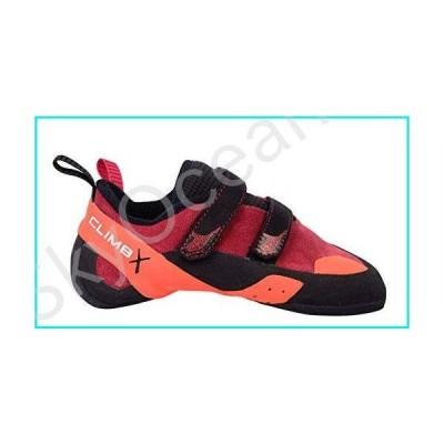 Climb X Red Point NLV Women's Climbing Shoe 2019 (Women's 9.5/ Men's 8, Red)【並行輸入品】