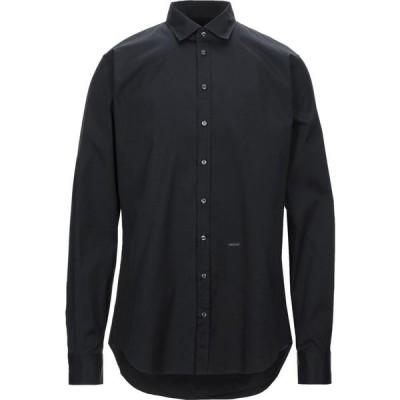 ディースクエアード DSQUARED2 メンズ シャツ トップス Solid Color Shirt Black