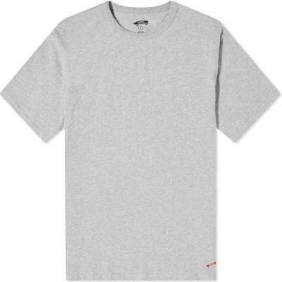 バンズ ボルト Vans Vault メンズ Tシャツ トップス og basic tee Athletic Heather