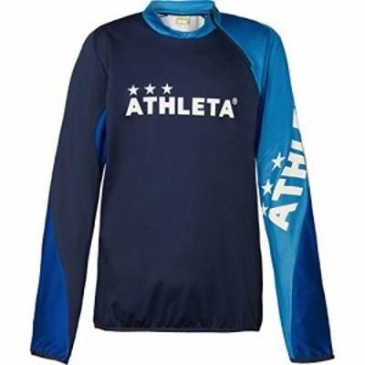 ATHLETA(アスレタ) トレーニングジャージシャツ 18005 Sサイズ ネイビー