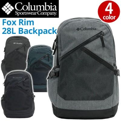 【SALE】 Columbia コロンビア リュック 正規品 リュックサック デイパック バックパック メンズ レディース 男女兼用 ブラック 28L Fox Rim 28L
