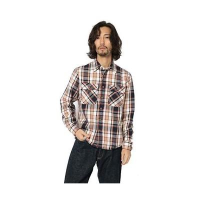 アヴィレックス ネルシャツ DAILY COTTON FLANNEL SHIRT 6105134 メンズ