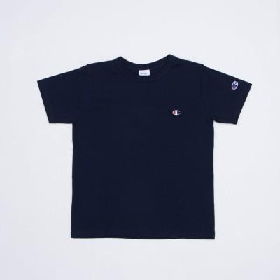 チャンピオン Champion ジュニア 半袖Tシャツ チャンピオンワンポイント半袖Tシャツ_ CK-T301 (ネイビー)