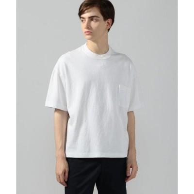 tシャツ Tシャツ 吊天竺 ビッグシルエット ポケットTシャツ