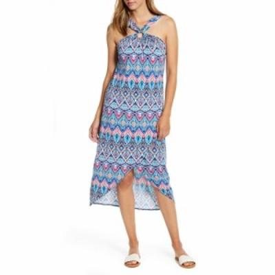 トミー バハマ TOMMY BAHAMA レディース ワンピース ワンピース・ドレス Prima Peacock Halter Neck Dress Amalfi Sea