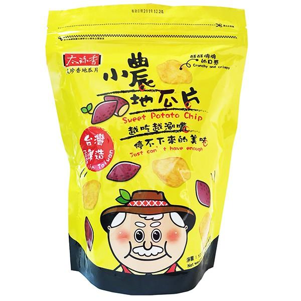 太珍香小農地瓜片(120g)【康是美】