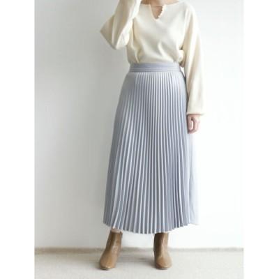 【テチチ/Te chichi】 フロントプリーツスカート