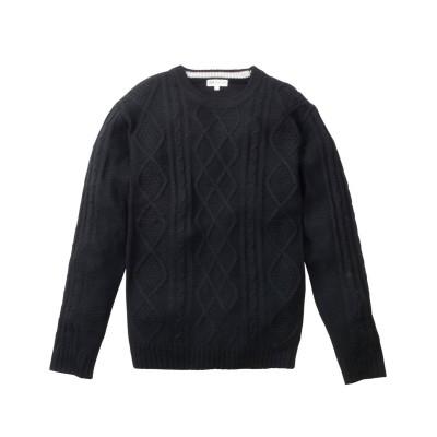 ケーブル編クルーネックセーター (ニット・セーター)Sweater,