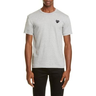 コム デ ギャルソン COMME DES GARCONS PLAY メンズ Tシャツ トップス Cotton Crewneck T-Shirt Grey