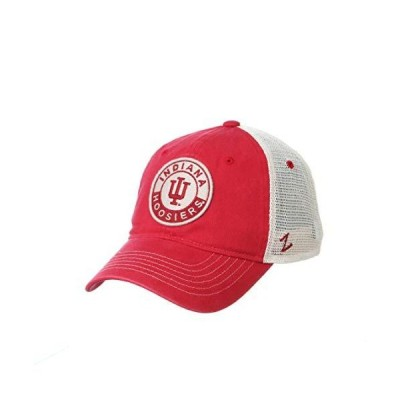 NCAA Indiana Hoosiers Mens Lancaster Relaxed Hat, Primary team color/White,