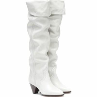 イザベル マラン Isabel Marant レディース ブーツ シューズ・靴 remko thigh-high leather boots Chalk