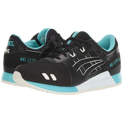 ASICS Tiger Gel-Lyte III メンズ スニーカー 靴 シューズ Black/Black