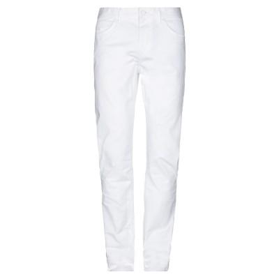 BOSS HUGO BOSS パンツ ホワイト 33W-34L コットン 98% / ポリウレタン 2% パンツ