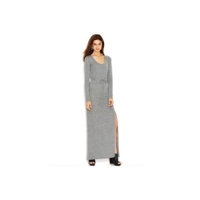 オルタナティブアパレル インク ドレス ワンピース フォーマル Alternative グレー 長袖 Scoop Neck Maxi ドレス サイズ S 82LAFO