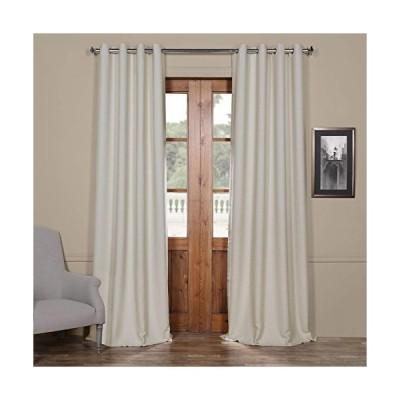 カーテン HPD Half Price Drapes BOCH-PL4201-120-GR Bellino Grommet Blackout Room Darkening Curtain (1 Panel), 50 X 120, Oat Cream