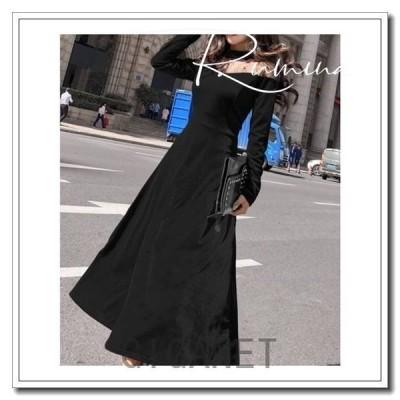 パーティードレス20代30代40代50代結婚式ワンピース大きいサイズ袖ありフォーマルロングワンピース?膝丈?お呼ばれドレス服装服女性二次会親族