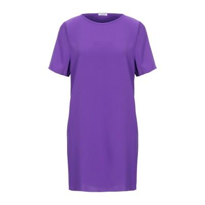 パロッシュ P.A.R.O.S.H. ミニワンピース&ドレス パープル XS ポリエステル 100% ミニワンピース&ドレス