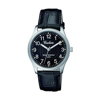 [クロトン] 腕時計 RT-157M-1 メンズ ブラック (文字盤色-ブラック)