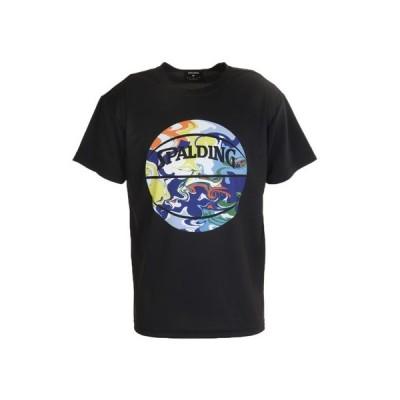 スポルディング(SPALDING) Tシャツ メンズ 半袖 ウォーターマーブルボール SMT200200 BM 【 バスケットボール ウェア 】 (メンズ)