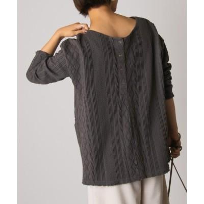 tシャツ Tシャツ 2WAYケーブルプルオーバー