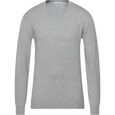 パオロ ペコラ PAOLO PECORA メンズ ニット・セーター トップス Sweater Light grey