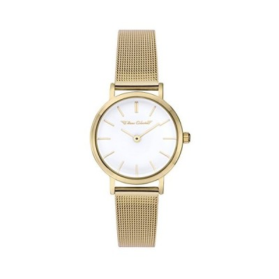 Time Chain Womens Analogue Classic Quartz Watch with Stainless Steel Strap 70009/GD 並行輸入品