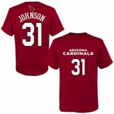 Outerstuff アウタースタッフ スポーツ用品  David Johnson Arizona Cardinals Youth Cardinal Mainliner Name & Number T