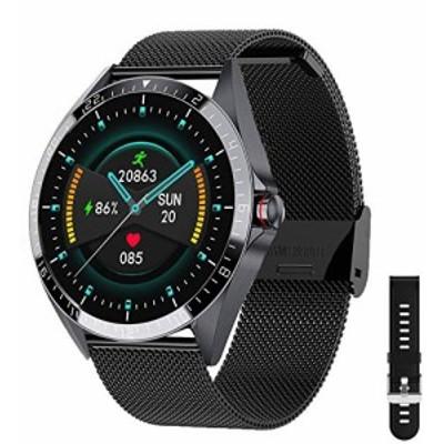 kuoleopa SmartwatchFitness Tracker Watch with Heart Rate Blood Pressure Monitor IP67 Waterproof Smartwatch Sports Activity T