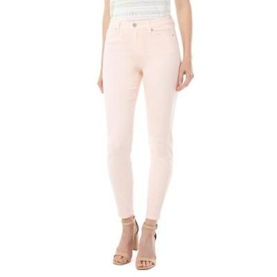 リバプール レディース デニムパンツ ボトムス Abby Ankle Skinny in Dawn Pink