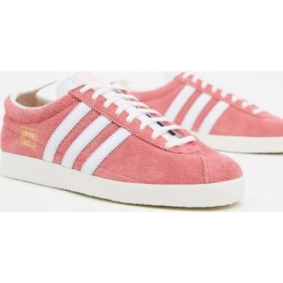 アディダス adidas Originals メンズ スニーカー シューズ・靴 Gazelle Vintage trainers in pink ピンク