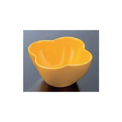 珍味 和食器 小鉢 小皿 小付 豆鉢 珍味鉢 クローバー珍味 黄 f6-698-32
