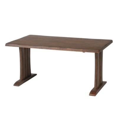 87695ダイニングテーブル 栞 (SHIORI) DBR (ダークブラウン)メーカー直送代引き/同梱包不可ソファー/ベッド/リビン
