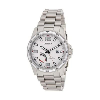 [シチズン] Citizen 腕時計 Men's 'Sport' Quartz Stainless Steel Casual Watch, Color:Silver-Toned 日本製クォーツ AW7031-54A メンズ 【