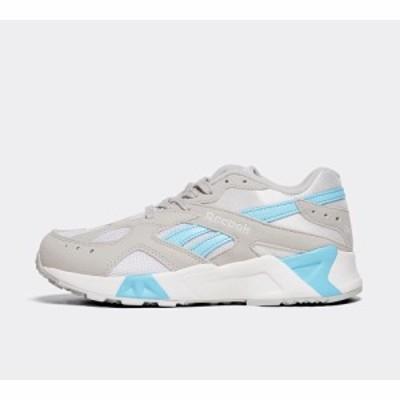 リーボック Reebok レディース スニーカー シューズ・靴 aztrek trainer Grey/White/Blue