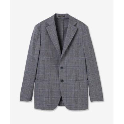 【マッキントッシュ ロンドン】 グレンチェックジャケット メンズ ブルー AB175 MACKINTOSH LONDON