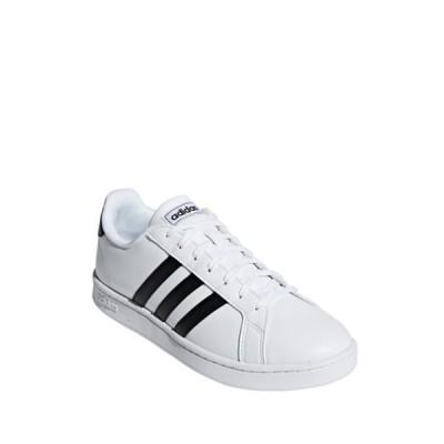 アディダス メンズ スニーカー シューズ Grand Court Leather Sneaker FTWWHT/CBL