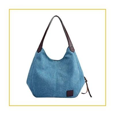 【☆送料無料☆新品・未使用品☆】Crazyshion Women's Canvas Handbags Vintage High Capacity Female Hobos Single Shoulder Bags T