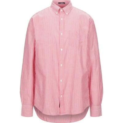 ガント GANT メンズ シャツ トップス striped shirt Red