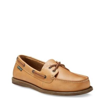 イーストランド メンズ スニーカー シューズ Men's Seaquest Boat Shoe Tan