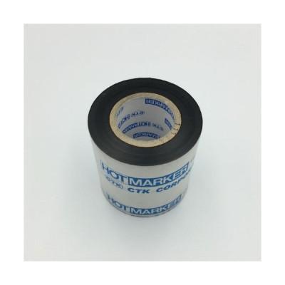 シーティーケイ(CTK) ホットマーカー用印字テープ 黒 C-111-50-50