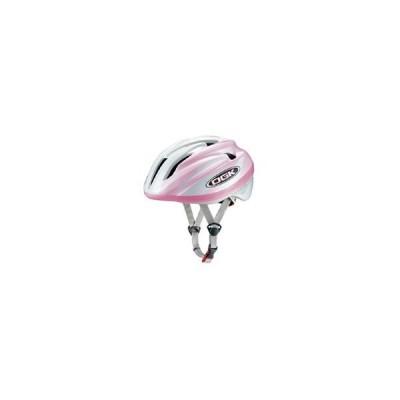 オージーケー OGK ジェイクレス2 J-CULES2 パールホワイトピンク 自転車ヘルメット子供用