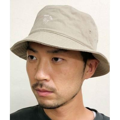 atmos / RIVER UP HAND SIGN BUCKET HAT / リバーアップ ハンドサイン バケットハット MEN 帽子 > ハット
