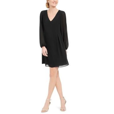 アイエヌシーインターナショナルコンセプト ワンピース トップス レディース INC Bow-Back Shift Dress Black