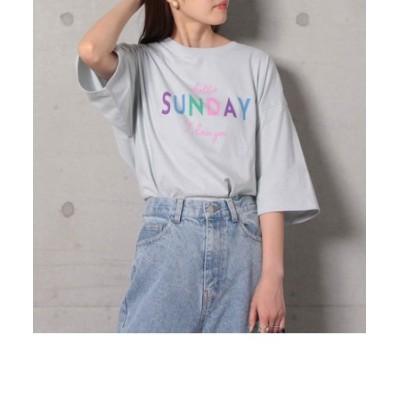 SUNDAY ロゴTシャツ