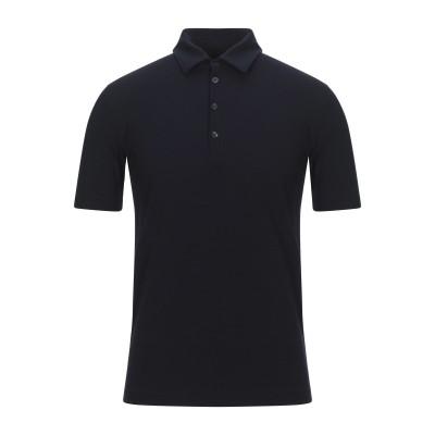 PHIL PETTER ポロシャツ ダークブルー S レーヨン 93% / ポリウレタン 7% ポロシャツ