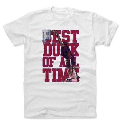 NBA ヴィンス・カーター USA Tシャツ Player Art Cotton T-Shirt 500Level ホワイト